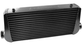 Aeroflow AF90-1000BLK Front Mount Intercooler (Black) 600x300x76mm