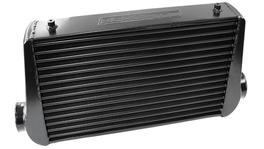 Aeroflow AF90-1001BLK Front Mount Intercooler (Black) 450x300x76mm