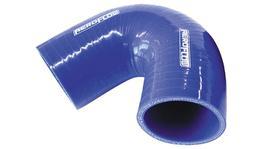 """Aeroflow AF9005-300 Silicone Hose 135 Deg; Blue  3.00"""" 76mm x 100mm Leg"""