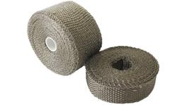 "Aeroflow AF91-3011 Exhaust Insulation Wrap2""x15Ft15 Foot Titanium Roll"