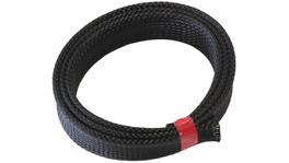 "Aeroflow AF91-7052 1"" 1 Meter Heat Flex Braid Black Tight Weave High Coverage"
