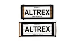 Altrex Number Plate Cover Historic Black With Lines