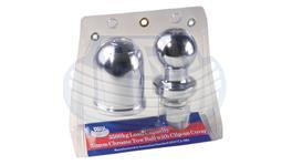 Ark Tow Ball & Cover 50mm 3.5T Chrome CCB50
