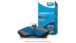 Bendix Brake Pad Set Front General CT DB1491 GCT
