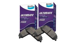Bendix Brake Pad Set Front and Rear Ultimate DB1473-DB1675ULT