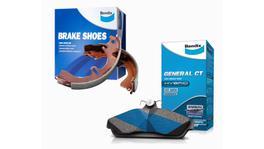 Bendix General CT Brake Pad and Shoe Set DB1045GCT-BS1271