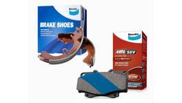 Bendix 4x4 Brake Pad and Shoe Set DB1842-4WD-BS1869