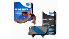 Bendix Heavy Duty Brake Pad and Shoe Set DB1134HD-BS1691