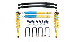 Bilstein 4WD 4x4 ReadyStrut Suspension Lift Kit fits HOLDEN Colorado RG
