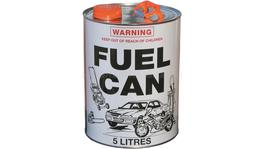 Cargo Mate 5L Metal Fuel Can Container - FC05M