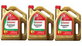 Castrol Transmax Type F Automatic Transmission Fluid 4L 3 Box