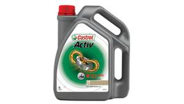 Castrol Activ 2T 2 Stroke Motorcycle Engine Oil 4L 4100596