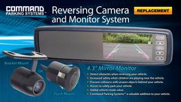"Rear View 5"" Monitor & Reverse Camera Pack - 91CMDS43M1BP"