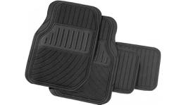 PERFECT FIT Car Mat Set 4 Piece Grey - 4561005