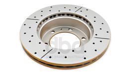 DBA Brake Rotor X-Gold Front Pair DBA2714X 32756