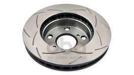 DBA Brake Rotor Slotted 4x4 T2 Pair DBA2715S 94984