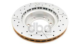 DBA Brake Rotor X-Gold Front Pair DBA2716X 32898