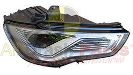 Hella Headlight Drivers Side Fits Audi A3 / S3 UABA-21033RHP 303155