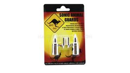 Animal Repellers Chrome (Pair) - Drive AR02