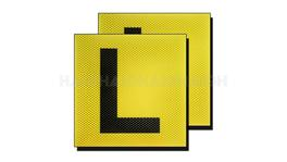 L Plates Clear Vision - Drive CL2