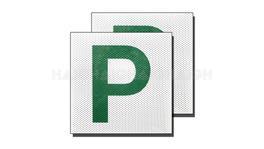 P Plates Green Clear Vision - Drive CP3
