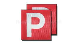 P Plates Red Clear Vision (VIC & WA) - Drive CP4