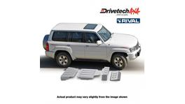 Drivetech 4x4 by RIVAL Underbody Armour fits Nissan Patrol GU DT-UBA06