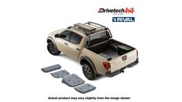 Drivetech 4x4 by RIVAL Underbody Armour fits Mitsubishi Triton DT-UBA13