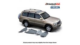 Drivetech 4x4 by RIVAL Underbody Armour fits Toyota Landcruiser 100 IFS DT-UBA16