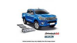 Drivetech 4x4 by RIVAL Underbody Armour fits Toyota Hilux GUN126 DT-UBA17