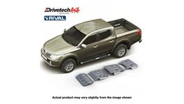 Drivetech 4x4 by RIVAL Underbody Armour fits Mitsubishi Triton MQ DT-UBA19