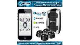 Fobo Plus Advanced BT 4.0 Wireless Sensor Tyre Pressure Monitoring System 600kPa (87psi) TPMS Black