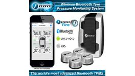 Fobo Plus Advanced BT 4.0 Wireless Sensor Tyre Pressure Monitoring System 600kPa (87psi) TPMS Silver