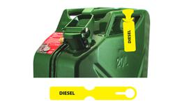 Fuel Can Tag Diesel FCTYEL