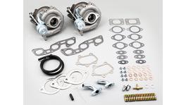 XTR Turbocharger Kit Low Mount IWG GT2860R (-7) Fits Nissan RB26