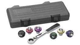 GearWrench Auto Specialty - Socket Set Magnetic Oil Drain Plug BlowMold Case 7Pc