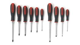 GearWrench Screwdriver Set Cushion Grip Combination & PoziDrive 10Pc