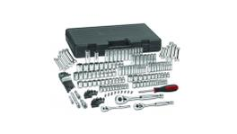 "GearWrench Tool Set Multi Drive 1/4"", 3/8"" & 1/2"" 6pt & 12pt Standard & Deep MET/SAE 165Pc"
