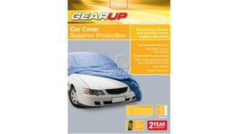 Gearup Car Cover X-Large 5.3m - 5.8m Silver