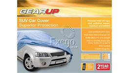 Gearup SUV Car Cover X-Large 5.2m - 5.6m Silver