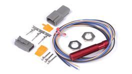 "Haltech HT-010610 ""Red"" Single Channel Hall Effect Sensor M12x1.0 (Wheel Speed, Crank/Cam)"