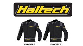 Haltech HT-309001 Iron On Racesuit Woven Patch 120mm