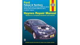 Haynes Repair Manual Suits Ford Falcon & Territory 02-14 36734