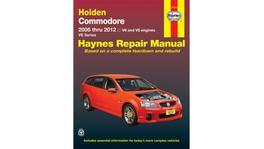 Haynes Repair Manual Suits Holden Commodore 06-17 41744