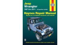 Haynes Repair Manual Suits Jeep Wrangler 50030