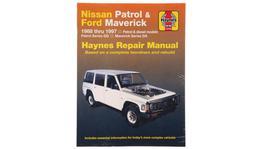Haynes Repair Manual Suits Nissan Patrol & Ford Maverick 88-97 72760