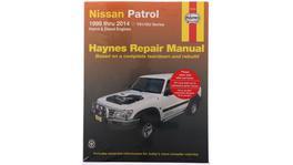 Haynes Repair Manual Suits Nissan Patrol 98-14 72761