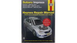 Haynes Repair Manual Suits Subaru Impreza, WRX & STI 04-14 89780