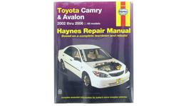 Haynes Repair Manual Suits Toyota Camry & Holden Apolo 02-06 92708