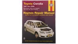 Haynes Repair Manual Suits Toyota Corolla 97-06 92728